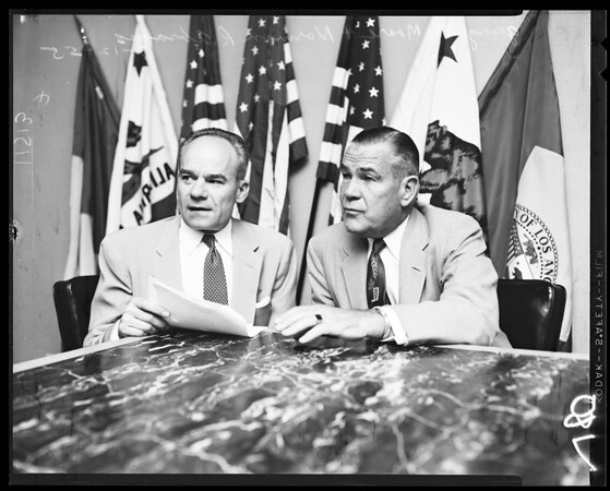 Press conference, 1955