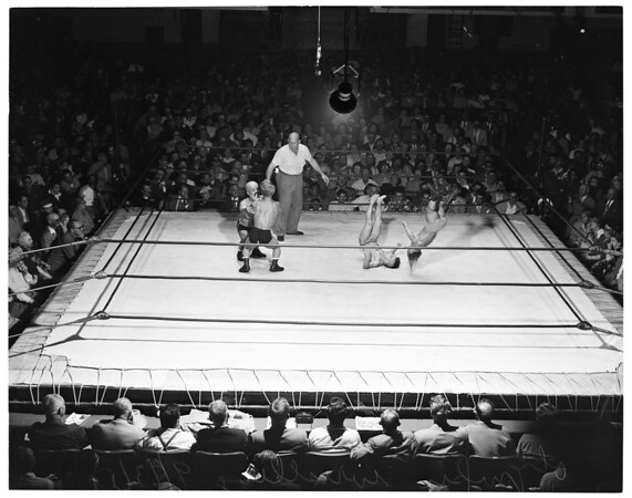 Olympic wrestling, 1951