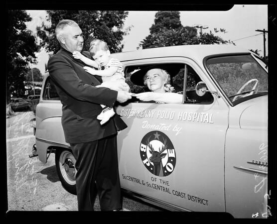 Sister Kenny station wagon... El Monte, 1952