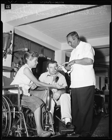 Vocational Rehabilitation (California State Department of Vocational Rehabilitation), Santa Monica, 1954