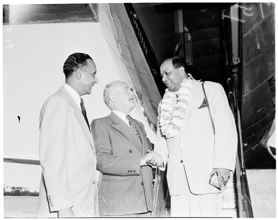 Pakistan ambassador (at Biltmore), 1952