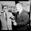 Sheriff meets Sheriff, 1954