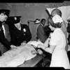 Nichols girl stabbing by ex-husband, 1956