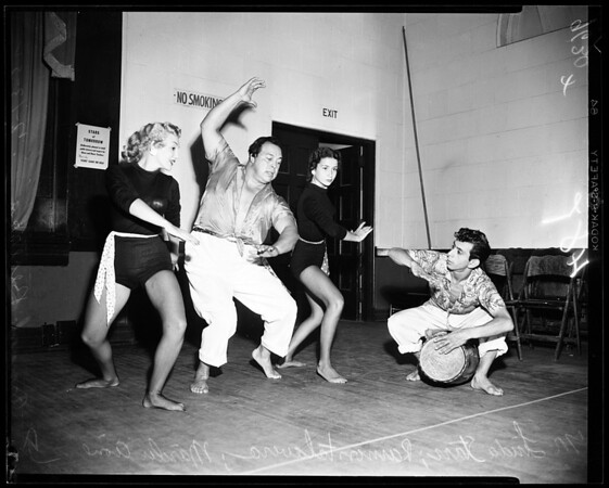Dancing teachers convention, 1952