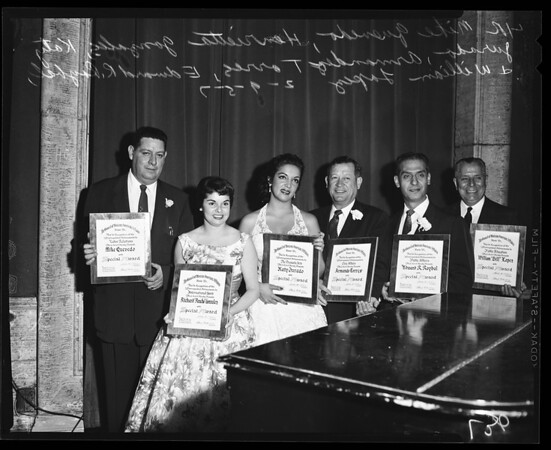 Mexican Awards, 1957