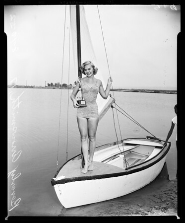 """""""Miss Letter Carrier of '52"""", 1952"""