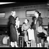 Ballet Russe arrival (Union Station), 1952