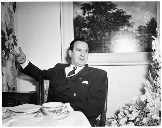 Interview, Ambassador, 1951