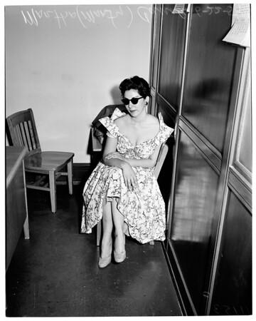 Narcotics arrest (744 Saybrook Avenue), 1954