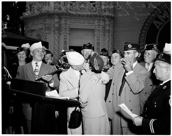 American Legion convention, San Diego, 1951