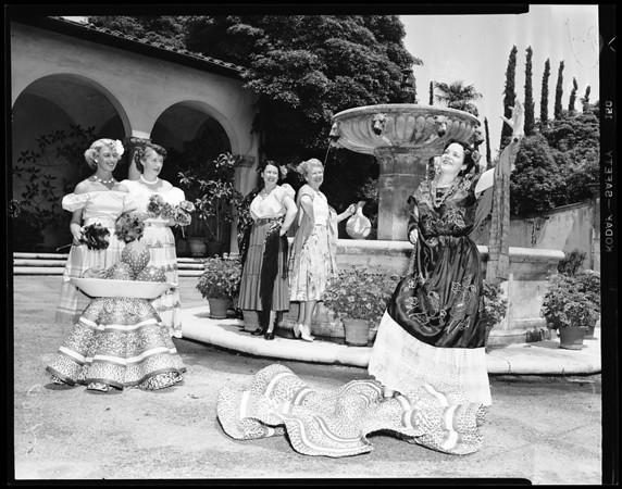 Spastic League women, 1952