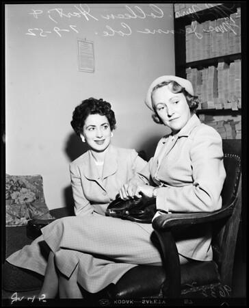 Cole divorce, 1952