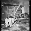 Door manufacturing plant fire (2943 Gleneden Street), 1952