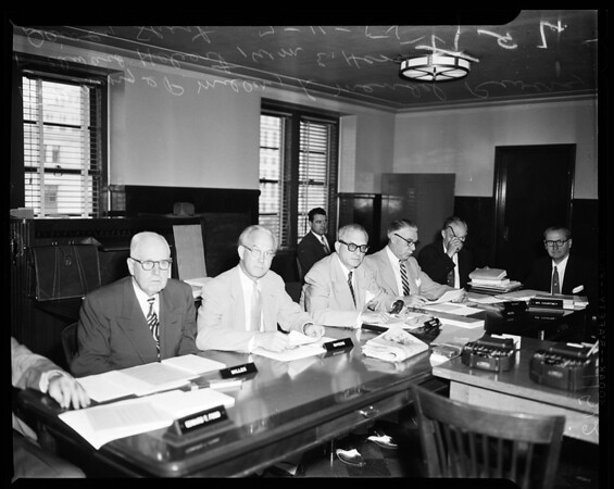 Oil pipeline hearing (house sub-committee), 1955