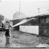 Fire in furniture shop, 6814 Lankershim Boulevard (Valley), 1952