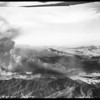 Malibu fire air views by Lind Flight Service, 1958
