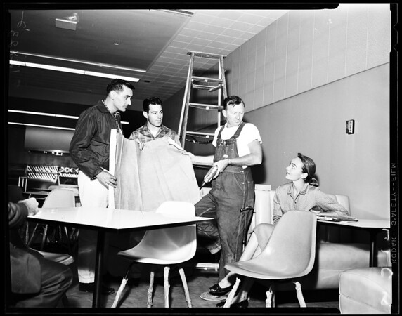 Feature: Los Angeles State College, 1958
