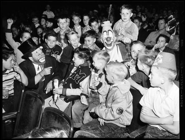 Shrine circus, 1954