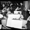 Los Angeles doctors symphony orchestra rehearsal, 1959
