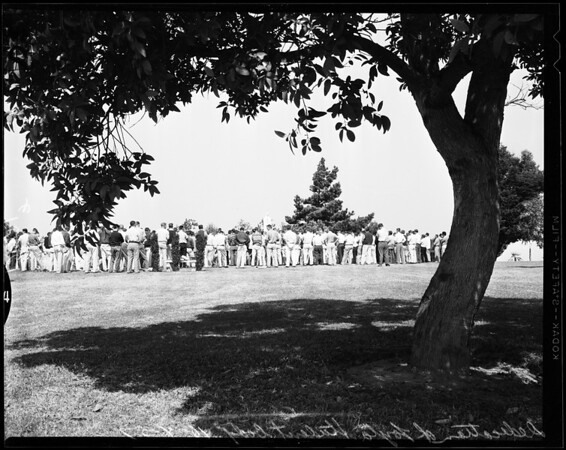 Dedication of Loyola Student Body, 1957