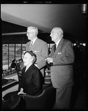 Opening Hollywood Park (Society), 1952