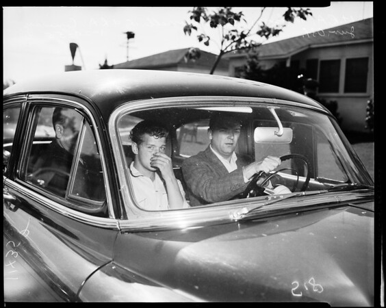 Shooting at 230 East Caldwell Street in Compton, 1955