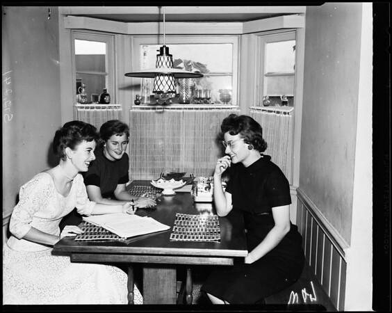 Las Duenas -- Tea, 1957