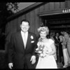 Carson--Albright wedding, 1952