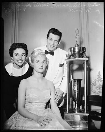 International Congress of Beauty at Biltmore Hotel, 1954