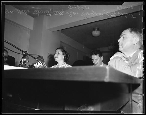Un-American hearings (candid shots too), 1951