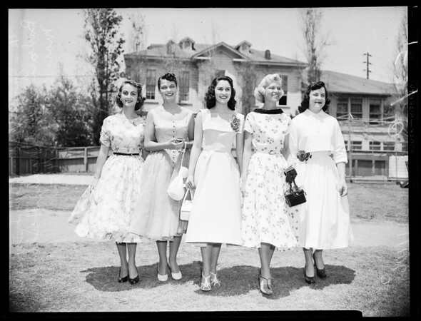 University of Southern California Cadet Queens, 1954