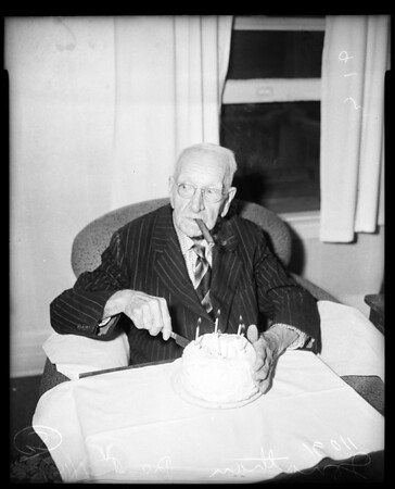 One hundredth (100th) birthday, 1954