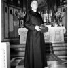 Reverend George Davidson (Episcopal Minister retires), 1951