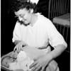 Abandoned baby boy (at hospital), 1954