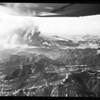 Malibu fire air views by Lind Flight Service, 1958