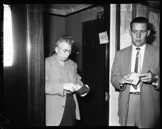 Money making machine, 1955