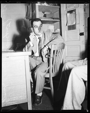 Narcotics suspect, 1954