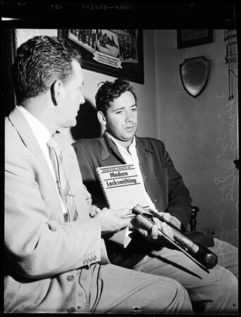 Beverly Hills burglar, 1952