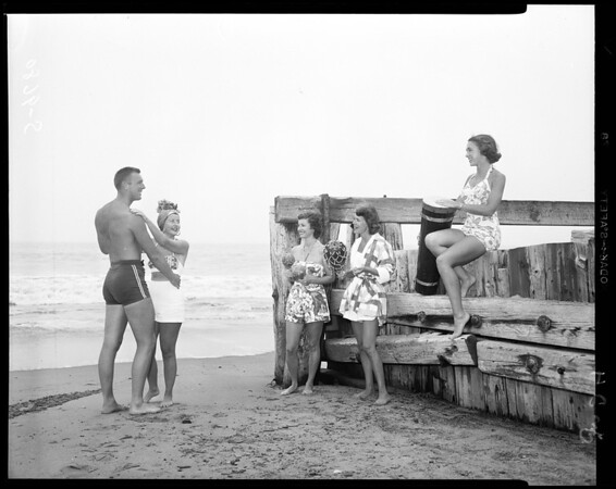 Beach Club, Santa Monica, 1952