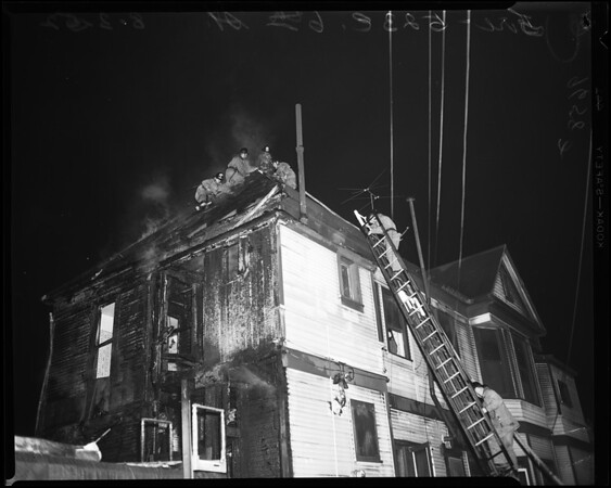Rooming house fire, 1952