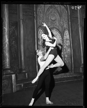 Ballet Russe opening, 1957