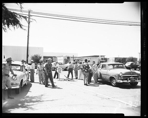 Strike riot, 1952