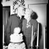 Golden wedding, 1952