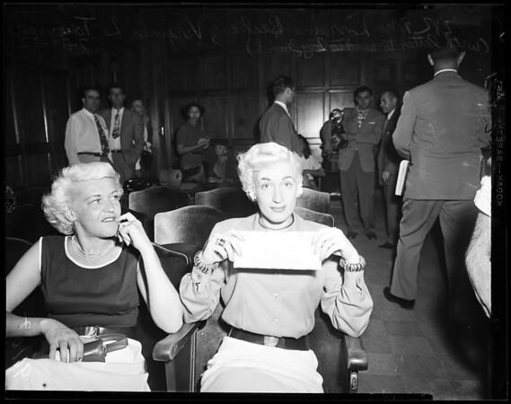Child stealing, 1952