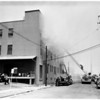 Schiffman Plant Fire (1734 North Main Street), 1954