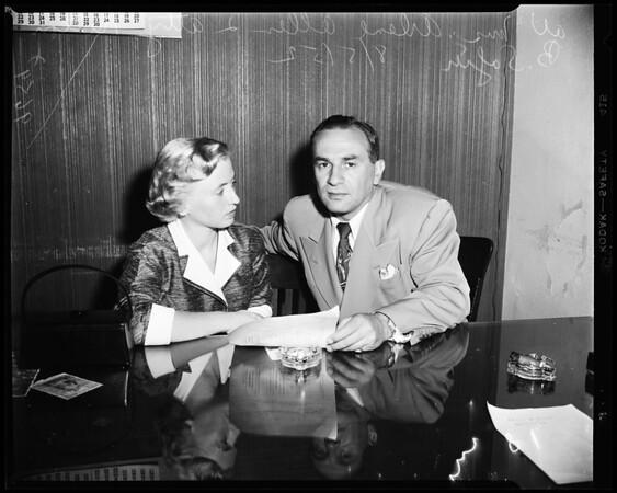 Beverly Hills burglary, 1952