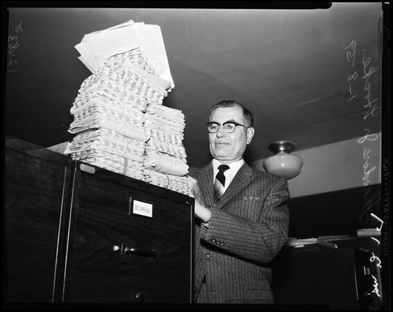 Theodore J. Hocke, 1959