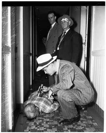 Second Street murder, 1951