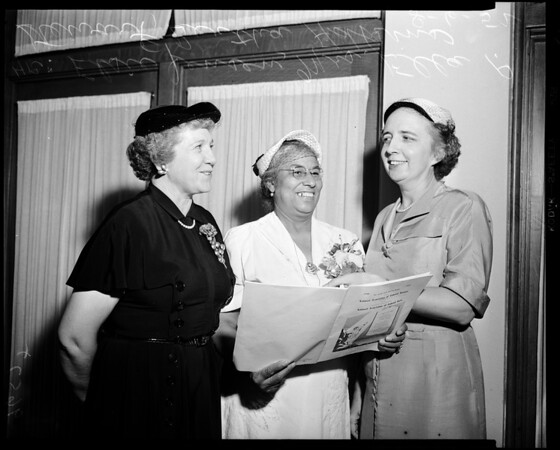 Colored women national convention, 1952