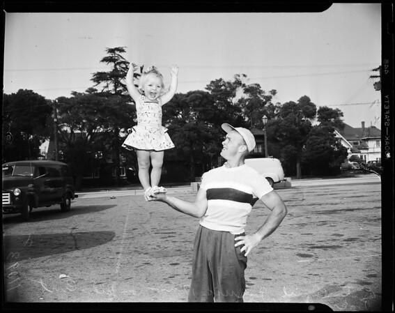 Shrine circus (Shrine Auditorium), 1954